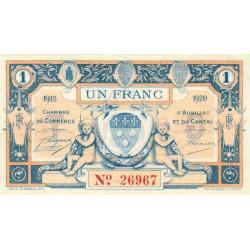 Aurillac (Cantal) - Pirot 016-10-G - 1 franc