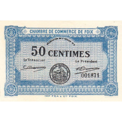 Foix - Pirot 59-01 - 50 centimes - Etat : NEUF