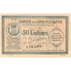 Foix - Pirot 59-05 - 50 centimes - Etat : SUP