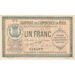 Foix - Pirot 59-10 - 1 franc - Etat : TB+