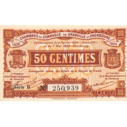 Granville / Cherbourg - Pirot 61-01-B - 50 centimes