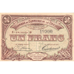 Gueret (Creuse) - Pirot 064-09-B - 1 franc