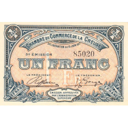 Gueret (Creuse) - Pirot 064-14 - 1 franc