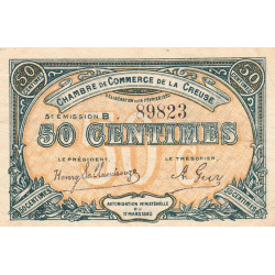 Gueret (Creuse) - Pirot 064-19-B - 50 centimes