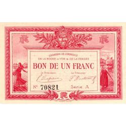 La Roche-sur-Yon (Vendée) - Pirot 065-05-A - 1 franc