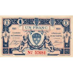 Aurillac (Cantal) - Pirot 016-04-C - 1 franc