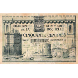 La Rochelle - Pirot 66-01-E - 50 centimes - Etat : TB+