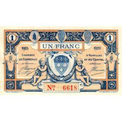 Aurillac (Cantal) - Pirot 016-08-F - 1 franc