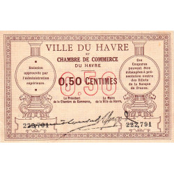 Le Havre - Pirot 68-01 - 50 centimes