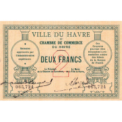 Le Havre - Pirot 068-04 - 2 francs