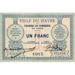 Le Havre - Pirot 068-10 - 1 franc