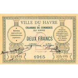 Le Havre - Pirot 68-12 - 2 francs - Etat : SUP