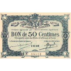 Le Havre - Pirot 68-14 - 50 centimes