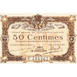 Le Havre - Pirot 68-17 - 50 centimes