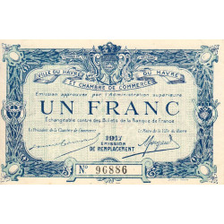 Le Havre - Pirot 068-18 - 1 franc