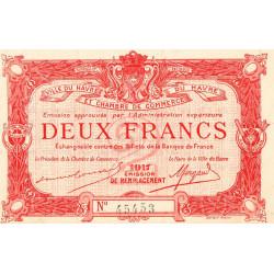 Le Havre - Pirot 68-19 - 2 francs - Etat : pr.NEUF