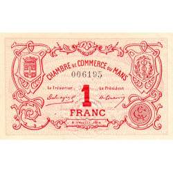 Le Mans - Pirot 69-05 - 1 franc - Etat : SUP+