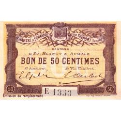 Le Tréport (Eu, Blangy, Aumale) - Pirot 71-17 - 50 centimes - Etat : pr.NEUF