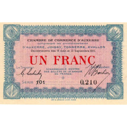 Auxerre - Pirot 017-01 - 50 centimes