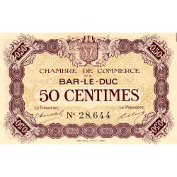 Bar-le-Duc - Pirot 19-1a - 50 centimes