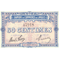 Limoges - Pirot 073-01 - 50 centimes