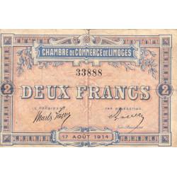 Limoges - Pirot 73-5 - 2 francs - Etat : TB