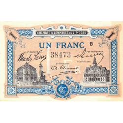 Limoges - Pirot 73-22-B - 1 franc