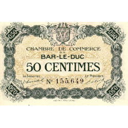 Bar-le-Duc - Pirot 19-7 - 50 centimes - Etat : NEUF