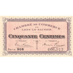 Lons-le-Saulnier - Pirot 74-1 - 50 centimes - Etat : NEUF