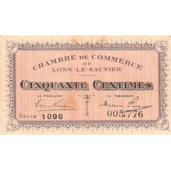 Lons-le-Saulnier - Pirot 74-1 - 50 centimes - Etat : SUP-