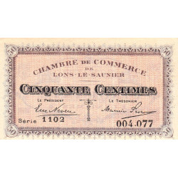 Lons-le-Saulnier - Pirot 74-9 - 50 centimes - Etat : SPL