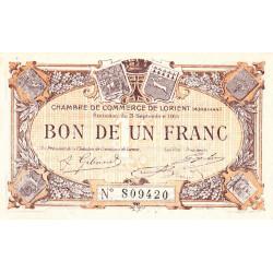 Lorient (Morbihan) - Pirot 75-18 - 1 franc