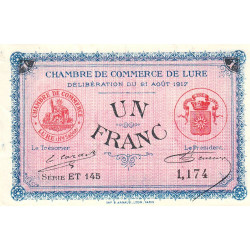 Lure - Pirot 076-22 - 1 franc
