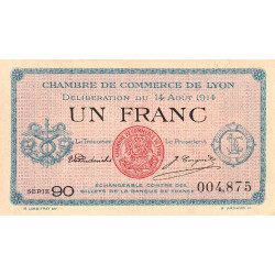 Lyon - Pirot 77-1b - 1 franc - Etat : pr.NEUF