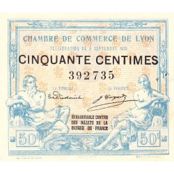 Lyon - Pirot 77-3 - 50 centimes - Etat : SUP+