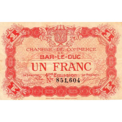 Bar-le-Duc - Pirot 19-15 - 1 franc