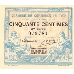 Lyon - Pirot 77-5-3 - 50 centimes - Etat : NEUF