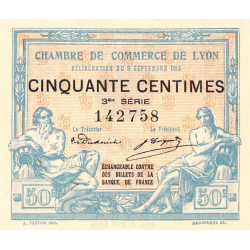 Lyon - Pirot 77-5-3 - 50 centimes - Etat : SUP+